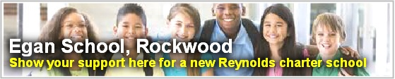 You can help to make The Egan School, Rockwood a reality! Sign the this online petition encouraging the Reynolds School Board to give this new charter school the green light! Click here!