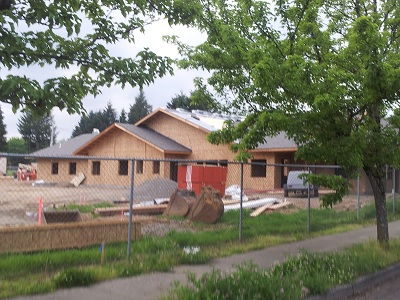 Albertina Kerr Expansion Phase I, May 16, 2014 Update: New Resident's Facility takes shape. Click to enlarge.