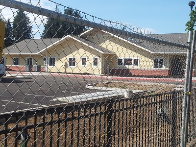 Albertina Kerr Project Phase I; Aug 23rd Construction Update; Subacute facility takes shape. Click to enlarge.