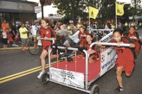 Bring a chair and join us for the exciting (and always hilarious) annual Olympic Bed Races in Historic Downtown Gresham: Aug 12, 2011 7PM. Info here!