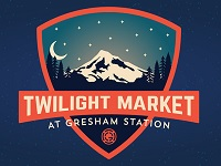 Twilight Market at Gresham Station 2019: Wed, Aug 14, 2019 4PM-8:30PM. . Info here!