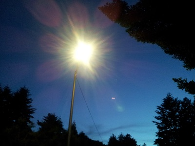 LED Streetlight Conversion Begins in West Gresham's Wilkes East Neighborhood, May 2014. Click to enlarge.