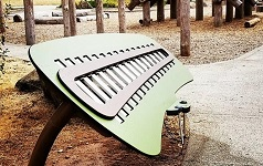 Giant Xylophone at Nadaka Nature Park, Gresham OR