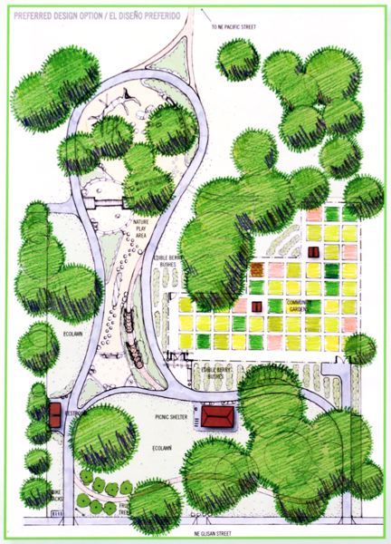 Nadaka Nature Park, Garden Project Master Plan. Neighborhood park to be completed with community gardens, a nature-based play area, picnic shelter and improved walking trail. Info here!