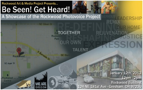 Rockwood area students to showcase photos and art: Jan 12, 2013 12PM-2PM. Info here!