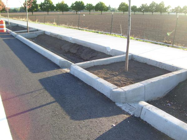 NE 242nd Av, stormwater planter - COMING SOON