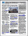 Winter 2012 Wilkes East Neighborhood newsletter. Click to view!