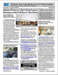 Summer 2014 Wilkes East Neighborhood newsletter. Click to view!
