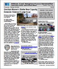 Download the Wilkes East Neighborhood Fall 2016 Newsletter here!