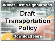 The WENA board has created a draft transportation policy for consideration by its members. The policy addresses our local transportation needs as well as regional needs that impact our neighborhood. Click to download!